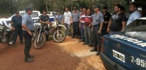 Jefe de Policía encabeza operativo en Montecarlo