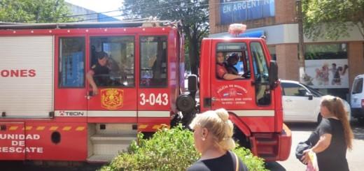 El Banco Macro realizó un simulacro de incendio