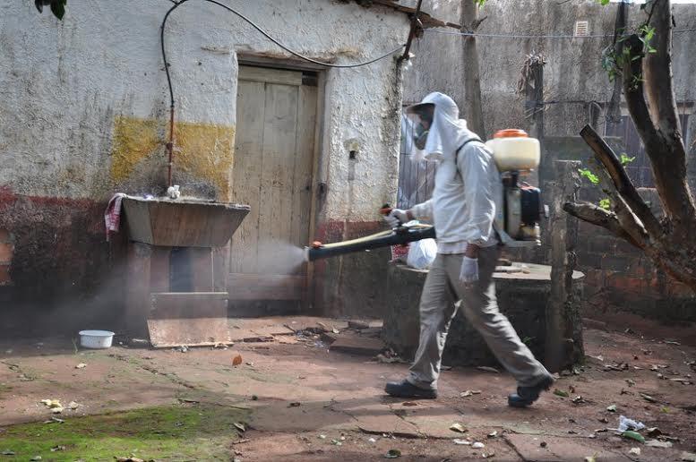 Salud Pública y Municipalidad de Posadas realizaron un operativo de prevención contra el dengue