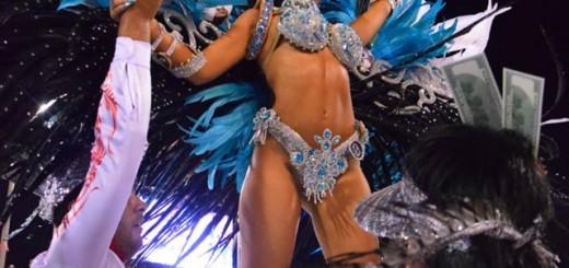 Encarnación brilló en la primera noche de carnaval