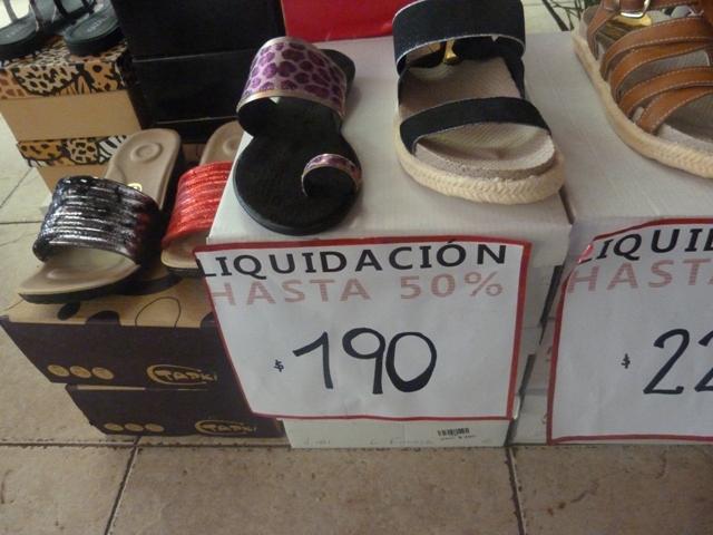 En liquidación: comerciantes posadeños admiten preocupación por la caída de ventas
