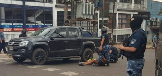 Cinco estafadores fueron detenidos en un megaoperativo en Posadas