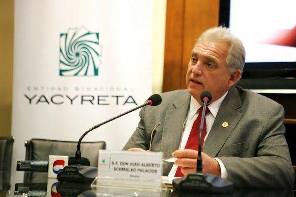Renunció Schmalko como director de Yacyretá en Paraguay