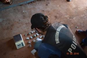 Redoblan los esfuerzos para desarticular las pequeñas bocas de expendio de droga en Jardín América