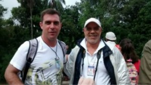 El técnico de San Lorenzo licenció al plantel y vino a las Cataratas del Iguazú