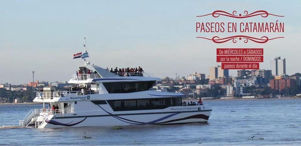 Misiones On Line sortea un paseo en catamarán para dos personas, participá