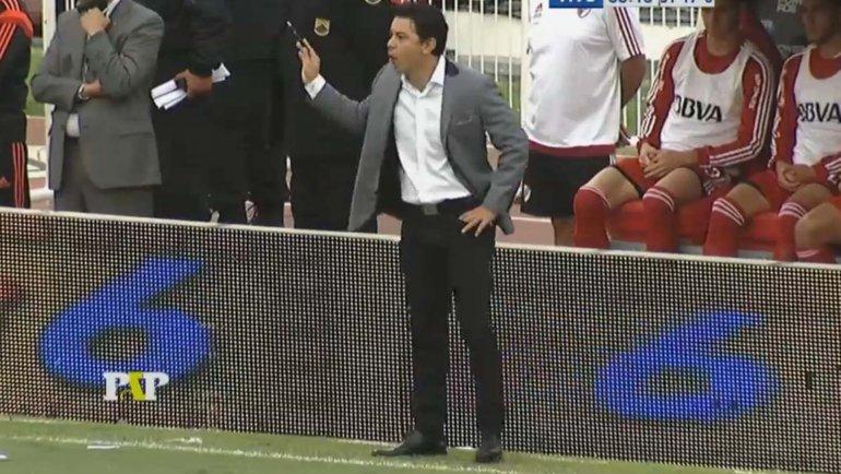 El enojo de Marcelo Gallardo con Rodrigo Mora, los detalles