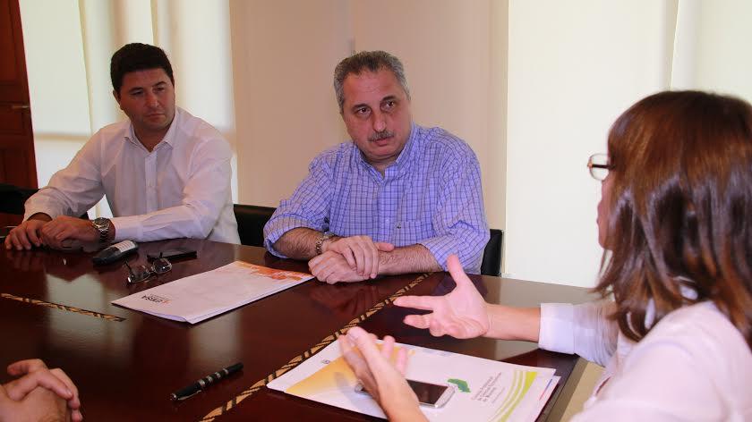 Auditoría en EMSA: Passalacqua recibió a las autoridades del Consejo Profesional de Ciencias Económicas