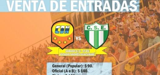 Ya se venden entradas para Crucero-Estudiantes de San Luis, mañana a las 17