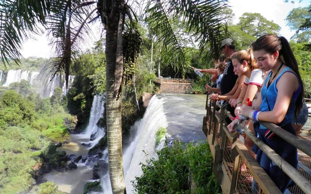 Sugieren cobrar la tasa ecoturistica en el Parque Nacional Iguazú