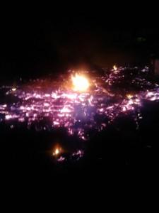 Un incendio que dejó a una mujer sin su casa habría sido provocado por su ex pareja