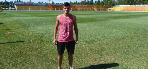 Lucas Caballero recuerda su golazo a Santamarina y sueña con repetir el domingo