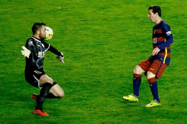 Barcelona goleó 5-1 con tres goles de Messi: estira su invicto y su ventaja en la Liga española