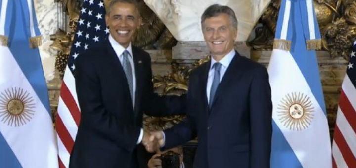 """Obama a Macri: """"Estados Unidos está listo para trabajar con la Argentina"""""""