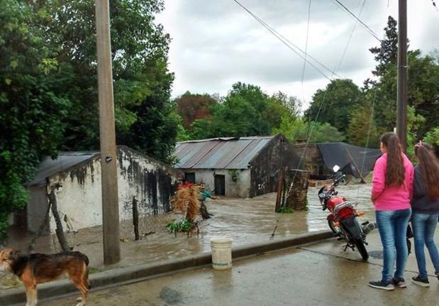 Inundación en Entre Ríos: Una misionera contó cómo sobrelleva la situación