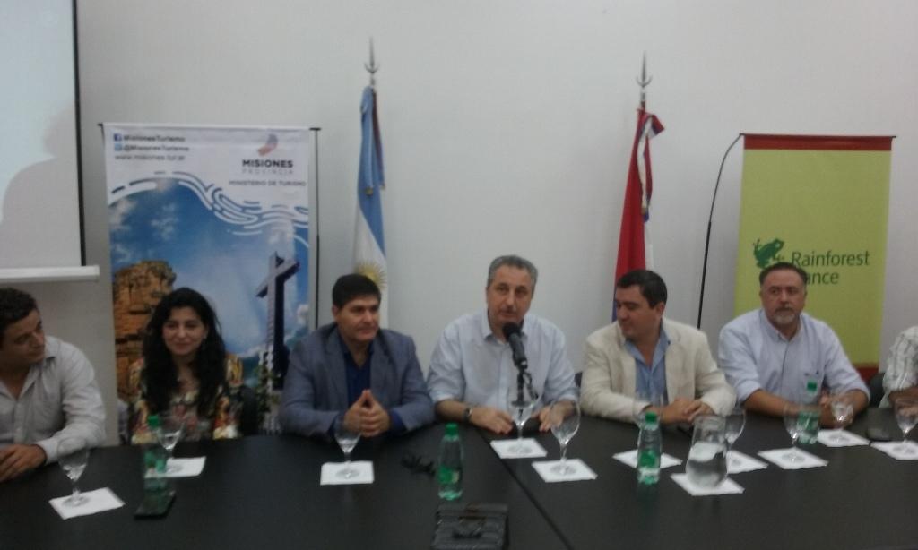 Passalacqua presentó la certificación sustentable de un grupo de hoteles de selva