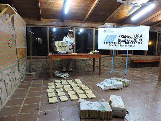 Prefectura incautó cerca de 100 kilos de droga en Puerto Rico