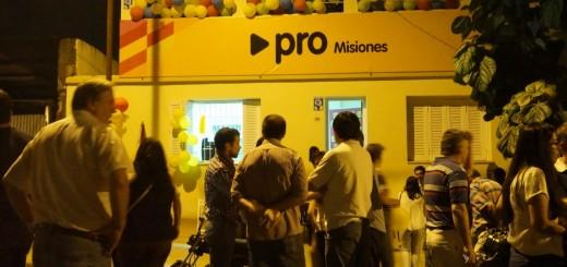 El PRO inauguró nueva sede partidaria en Posadas