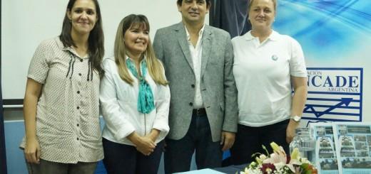 Losada se reunió con las autoridades del INCADE