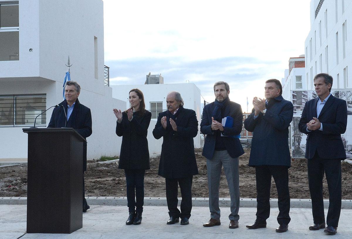 Mauricio Macri lanzó el nuevo Plan de Vivienda