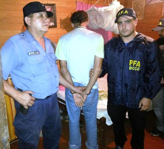 En un operativo conjunto la Policía detuvo a un supuesto violador con pedido de captura en Puerto Rico