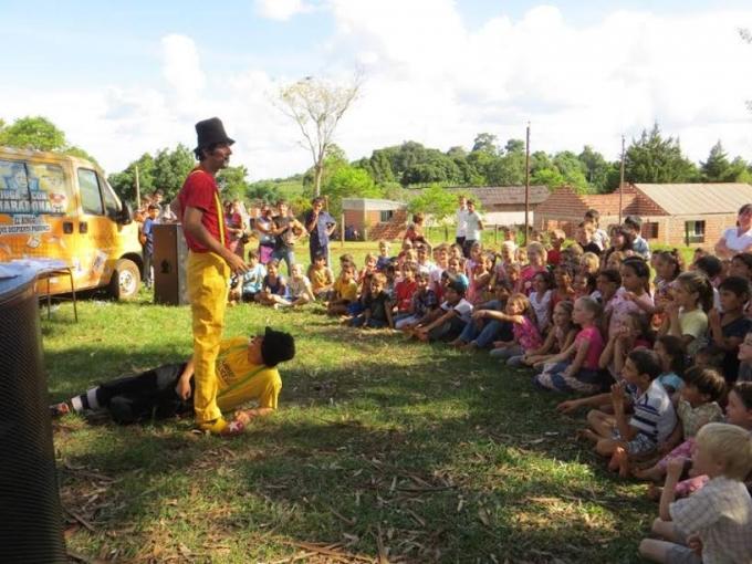 La Escuela 740 de El Soberbio festejó su aniversario con Gurises Felices