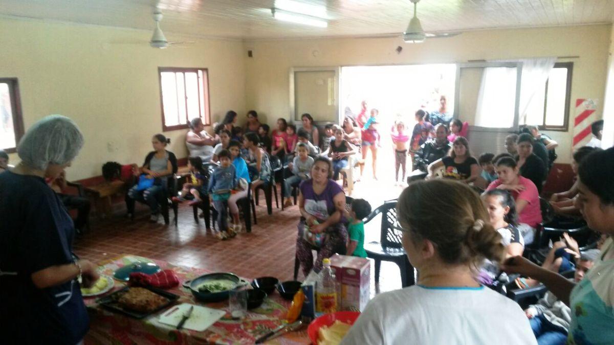 Capacitaron a más de 50 madres del programa Hambre Cero en Puerto Libertad