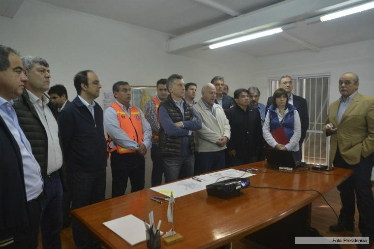 «Estamos ante una catástrofe ambiental», afirmó Macri sobre las inundaciones
