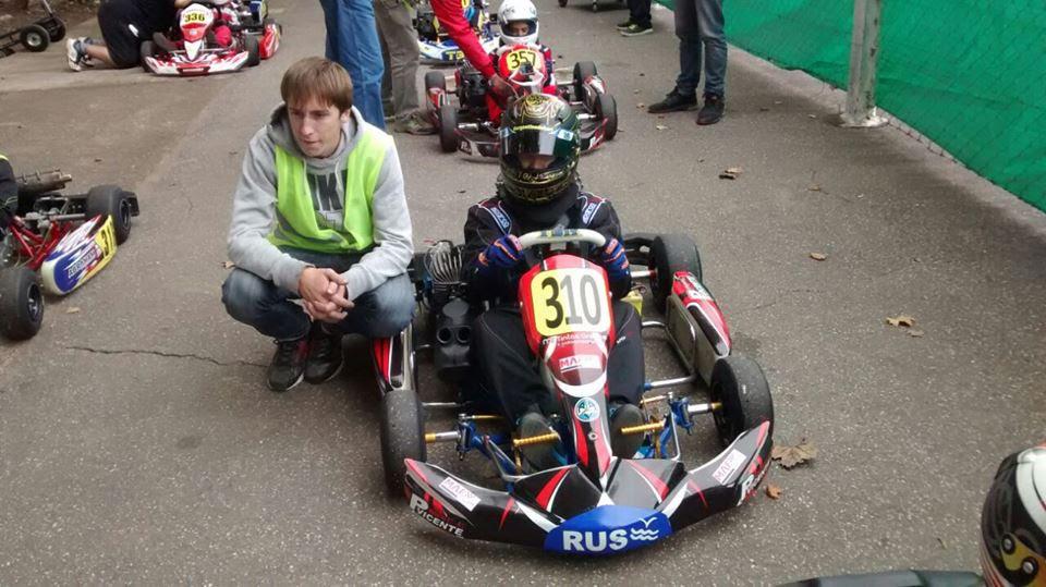 Chiappella dice presente en el Regional de Karting