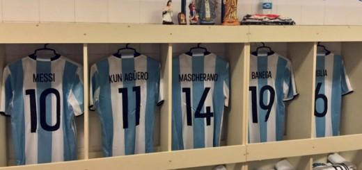 Aquí están, estos son: los dorsales que usarán los jugadores de Argentina en la Copa América
