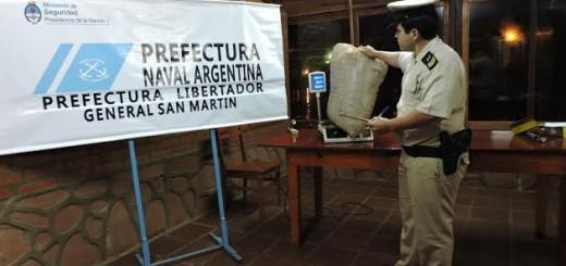 Prefectura secuestró más de 10 kilos de droga en Puerto Rico