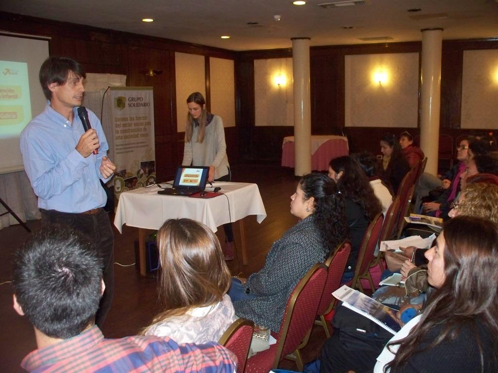 El Grupo Solidario y la fundación Conin capacitan en la prevención de la desnutrición infantil