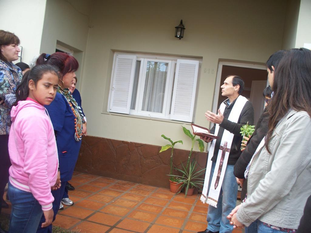 """El Hogar de Jóvenes """"Padre Mugica"""" se mudó a la nueva casa de Tupá Rendá en Villa Sarita"""