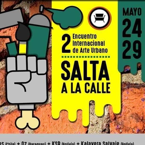 Misioneros llevarán su street art a Salta