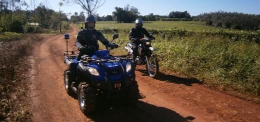 Realizaron un nuevo operativo en zona rural de Dos de Mayo