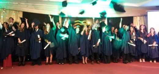 Se realizó el VIII Acto de Colación de Grado de la Universidad de la Cuenca del Plata Sede Posadas