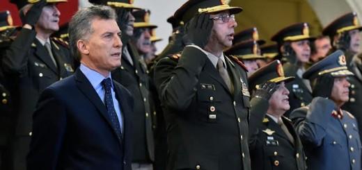 Macri exhortó a los militares a participar de la lucha contra el terrorismo