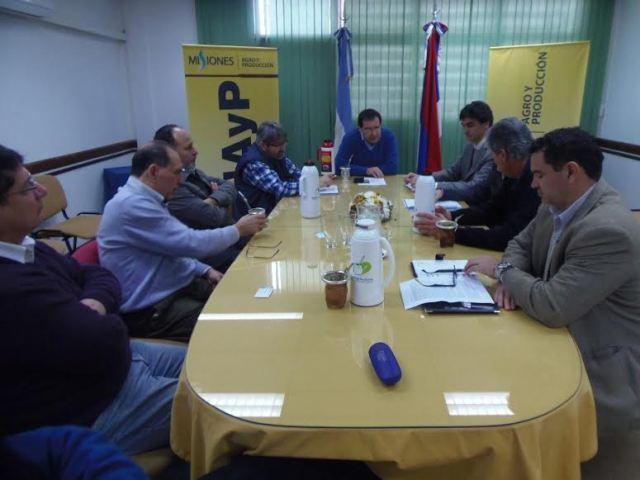 "Garay: ""El sector maderero planteó la falta de demanda nacional"""
