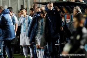 """El médico del seleccionado argentino dijo que Messi """"está un poco mejor"""""""