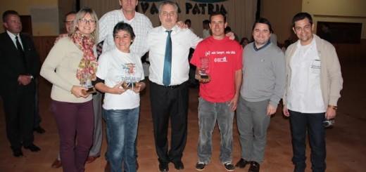 Passalacqua entregó reconocimientos a donantes de médula ósea