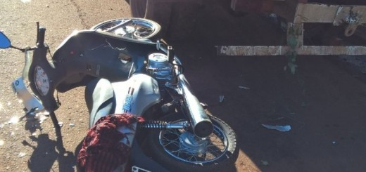 Cerro Azul: dos motociclistas heridos en distintos accidentes