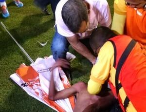 Batalla de hinchas en el torneo alagoano de Brasil: un herido muy grave