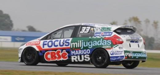 Turismo Nacional: Okulovich salió 4º en el Mouras y estuvo cerca de su segundo podio seguido