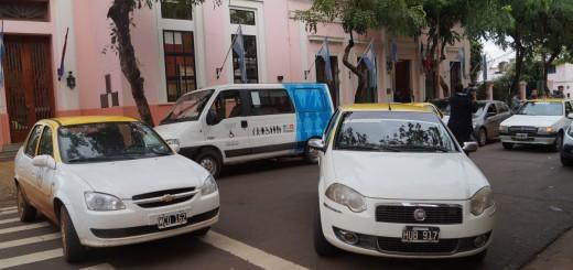 """Taxistas piden """"que no haya impunidad para los que matan al volante"""""""