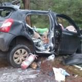 Una madre y sus dos hijas fueron internadas tras un grave accidente