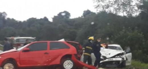 Cuatro personas fallecieron en un choque frontal en Gobernador Roca