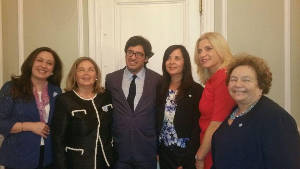 Leiva participó en Estados Unidos de la convención internacional de mujeres juezas