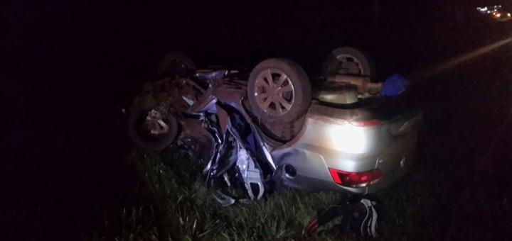 Nueva tragedia en una ruta misionera: tres fallecidos tras un choque en San Vicente
