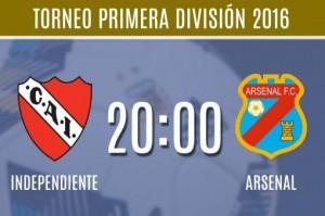 Independiente, con entrenador interino, recibirá a Arsenal en el Libertadores de América