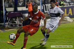 Independiente le empató el partido a Gimnasia